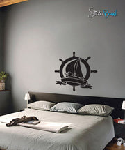 Vinyl Wall Decal Sticker Nautical Ship #443