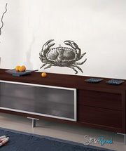 Vinyl Wall Decal Sticker Crab #453