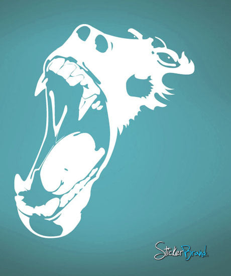 Vinyl Wall Decal Sticker Gorilla Scream #462