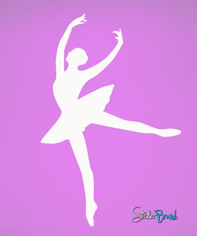 Vinyl Wall Decal Sticker Ballerina Dancer #463