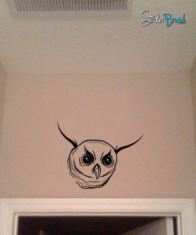 Vinyl Wall Decal Sticker Owl #467