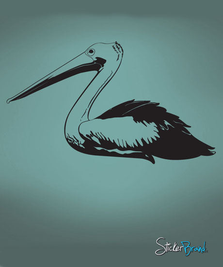 Vinyl Wall Decal Sticker Pelican #469