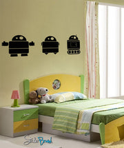 Vinyl Wall Decal Sticker Robots #477