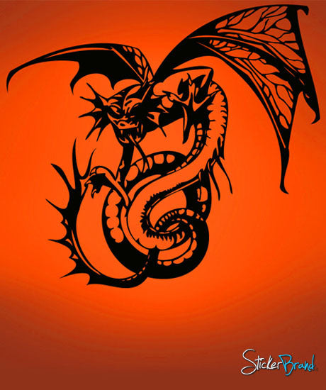 Vinyl Wall Decal Sticker Dragon #485