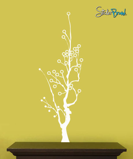 Vinyl Wall Decal Sticker Contempo Tree #489