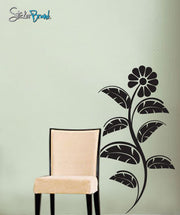 Vinyl Wall Decal Sticker Flower Leaves #492