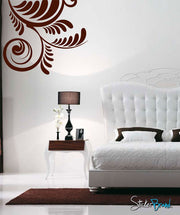 Vinyl Wall Decal Sticker Swirl Decor #499