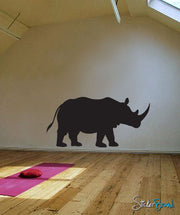 Vinyl Wall Decal Sticker Rhinoceros # 505