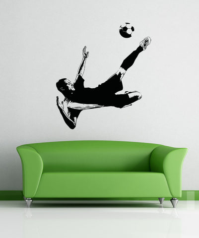 Vinyl Wall Decal Sticker Soccer Player #5071