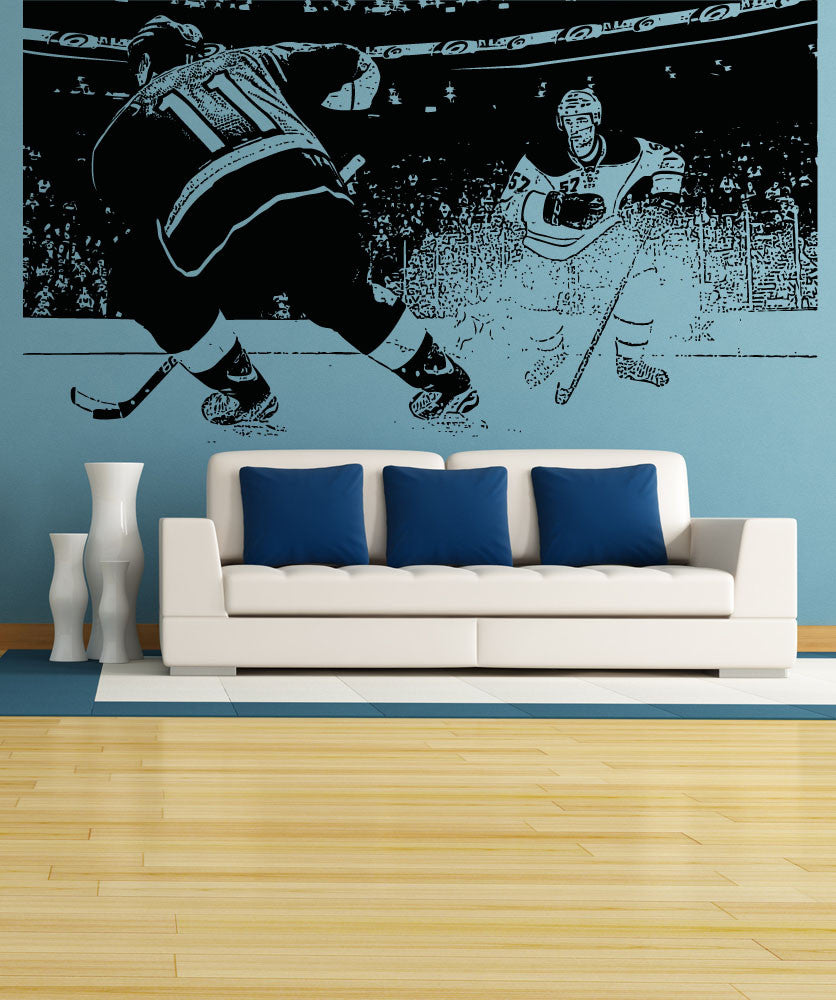 Vinyl Wall Decal Sticker Hockey Game #5088
