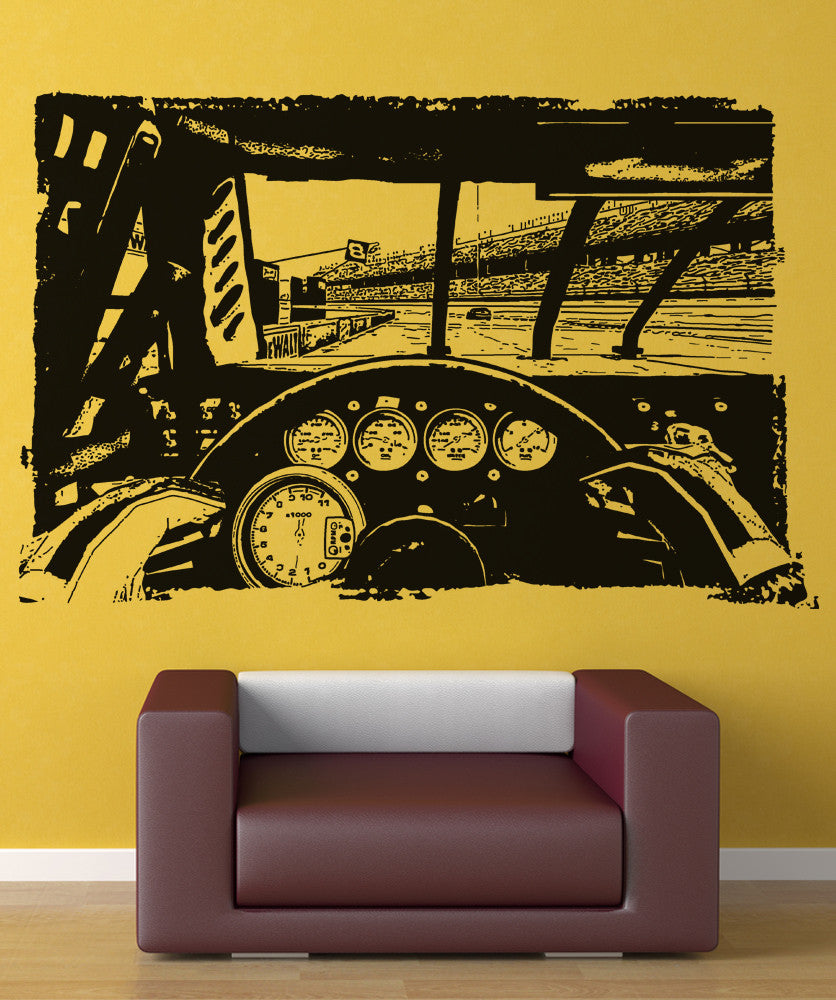 Fine Nascar Wall Decor Pictures Inspiration - The Wall Art ...
