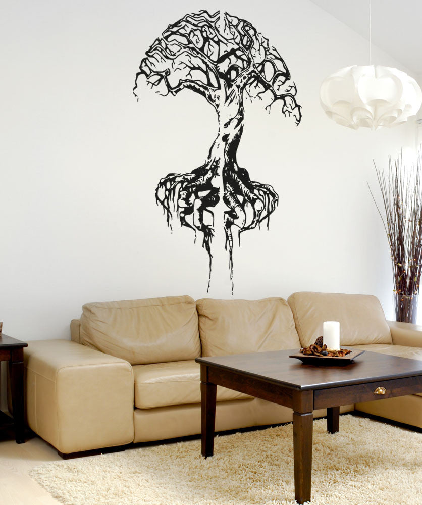 Vinyl wall decal sticker brain tree 5121 amipublicfo Choice Image