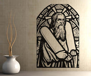 Vinyl Wall Decal Sticker Moses #5126