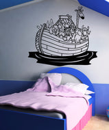 Vinyl Wall Decal Sticker Noah's Ark #5127
