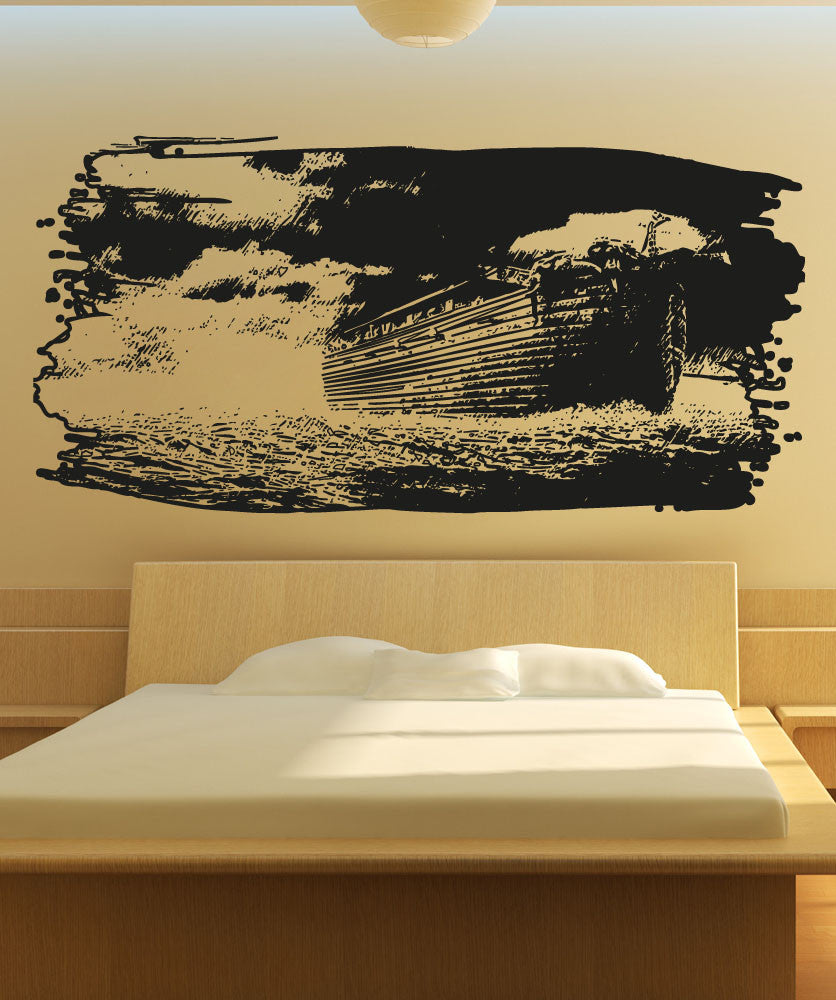 Vinyl Wall Decal Sticker Noah's Ark Art #5129