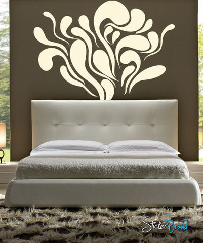 Vinyl Wall Decal Sticker Blobs Decor #512
