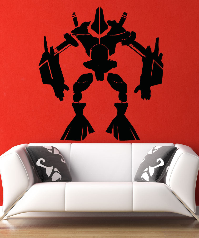 Vinyl Wall Decal Sticker Alien Robot #5145