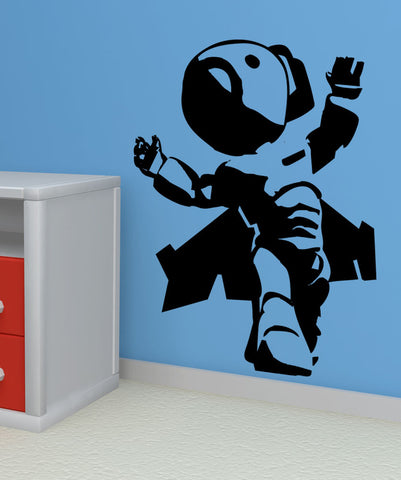 Vinyl Wall Decal Sticker Little Rocket Man #5149