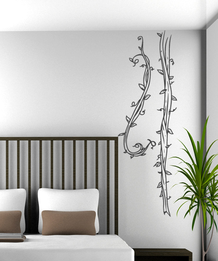 Vinyl Wall Decal Sticker Swinging Vines #5170