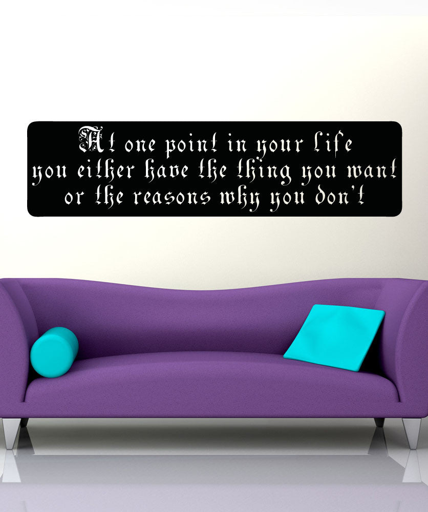 Vinyl Wall Decal Sticker Things You Want #5183