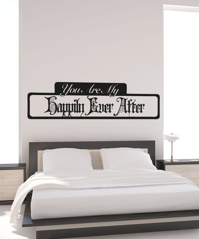 Vinyl Wall Decal Sticker My Happily Ever After #5197