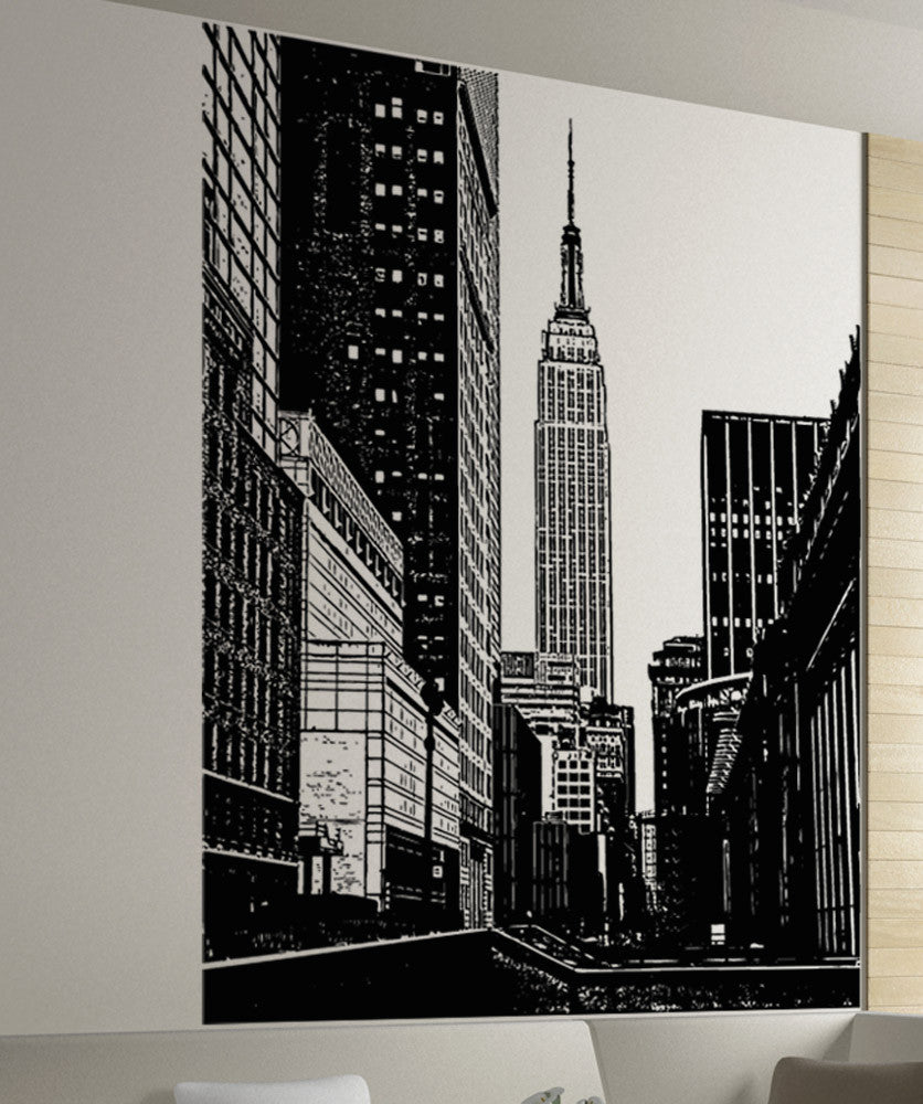 New York City Empire State Building Wall Decal 5206
