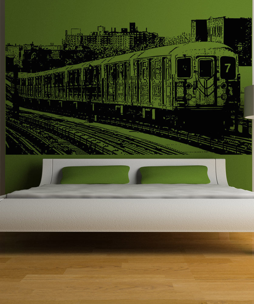Vinyl Wall Decal Sticker 7 Train #5208