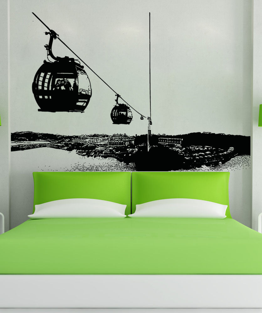 Vinyl Wall Decal Sticker Lift Ride #5221