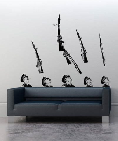 Vinyl Wall Decal Sticker ROTC Drill Team #5236