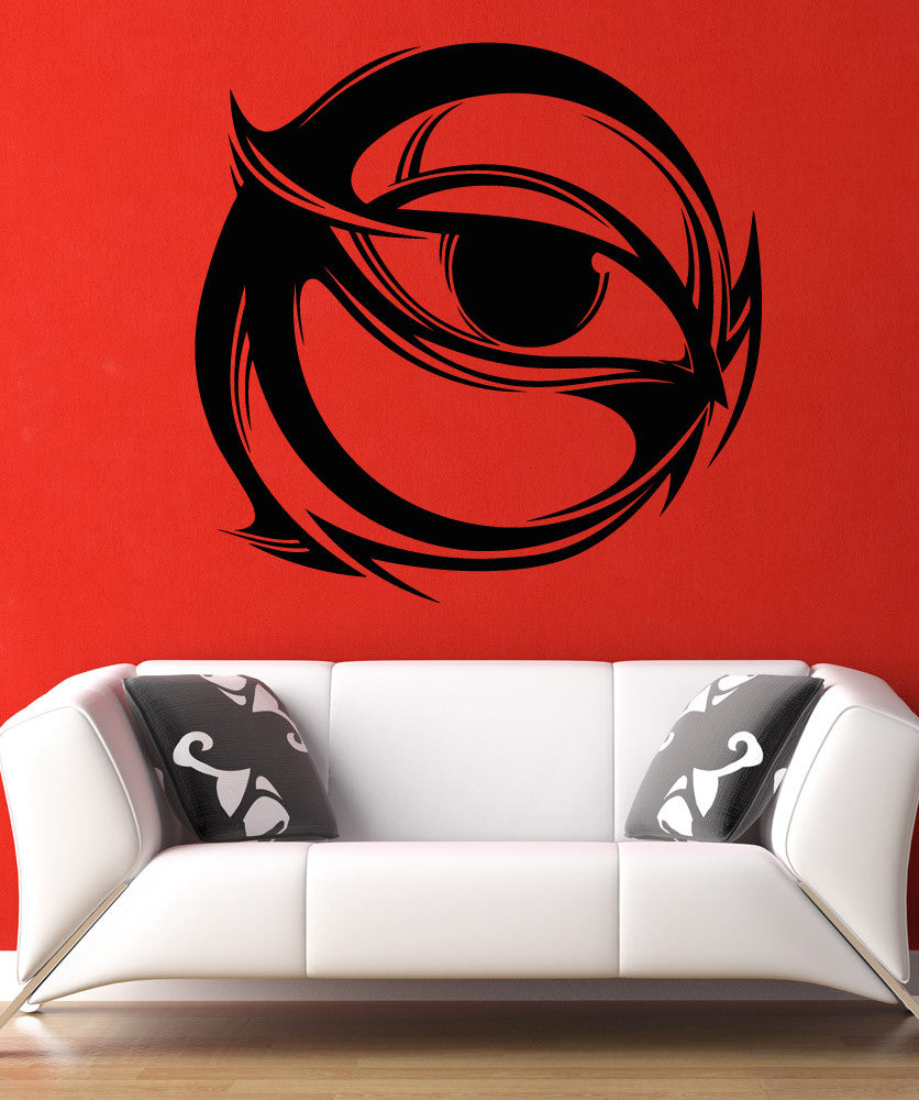 Vinyl Wall Decal Sticker Circle Eye Design #5261