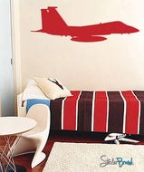 Vinyl Wall Decal Fighter Jet Bomber #530