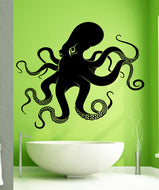 Big Octopus Tentacles Wall Decal Sticker. #5344