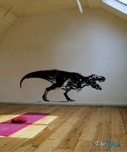 Vinyl Wall Decal Sticker T-rex Attack #536