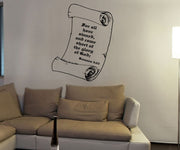 Vinyl Wall Decal Sticker Romans 3:23 #5391