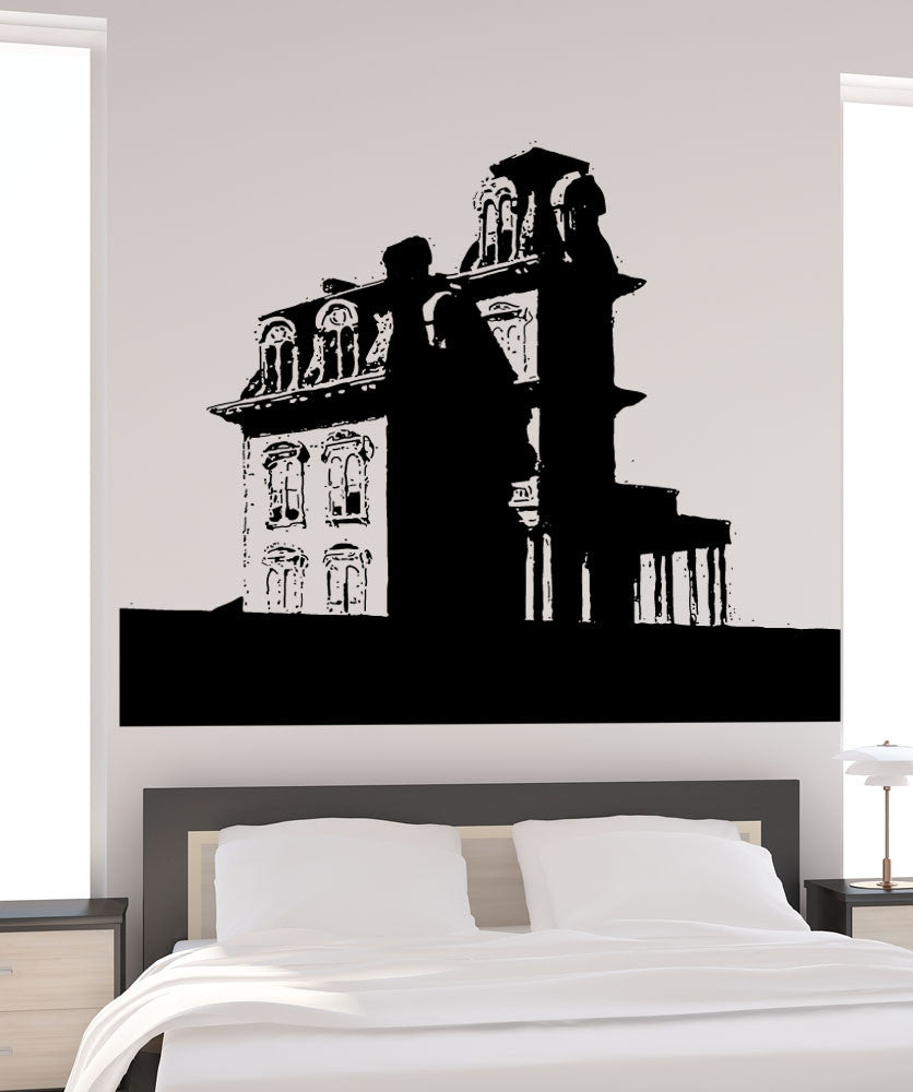 Vinyl Wall Decal Sticker House By The Railroad #5400