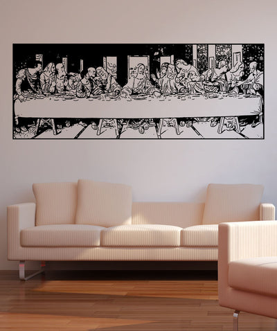 Vinyl Wall Decal Sticker The Last Supper #5415