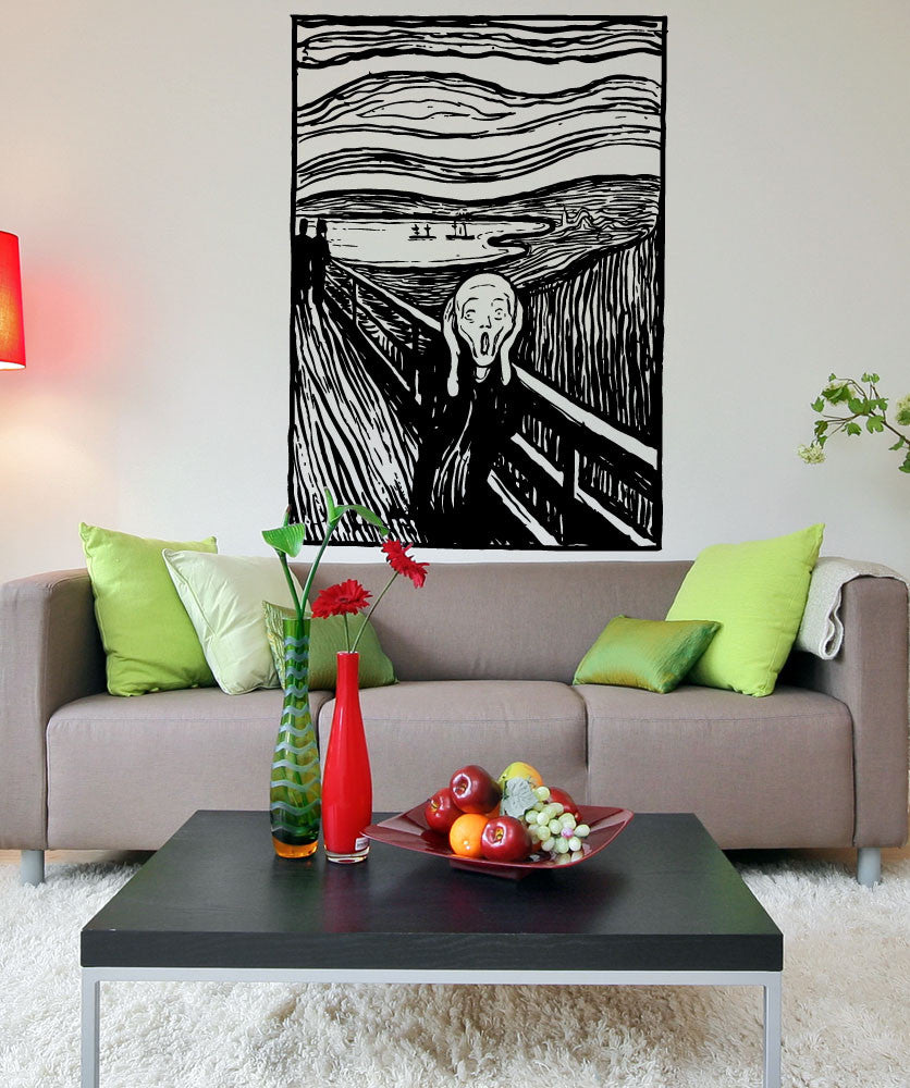 Vinyl Wall Decal Sticker The Scream #5416