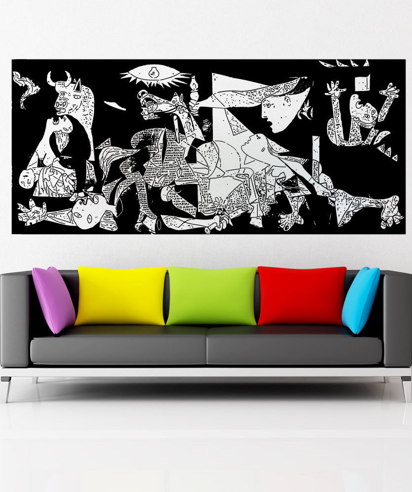 Vinyl Wall Decal Sticker The Guernica #5419