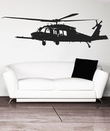 Vinyl Wall Decal Sticker MH-60 Black Hawk Helicopter #5470