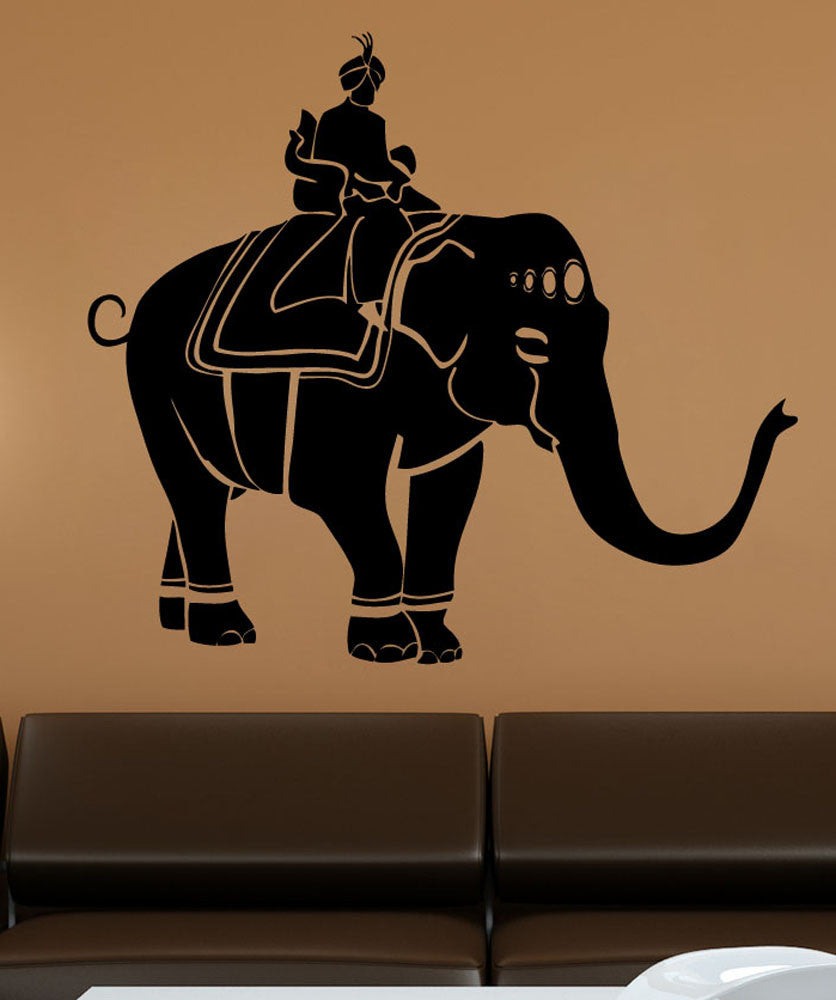 Vinyl Wall Decal Sticker Ganesha Elephant #5488