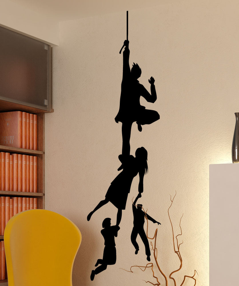 Vinyl Wall Decal Sticker Family Hanging #5493