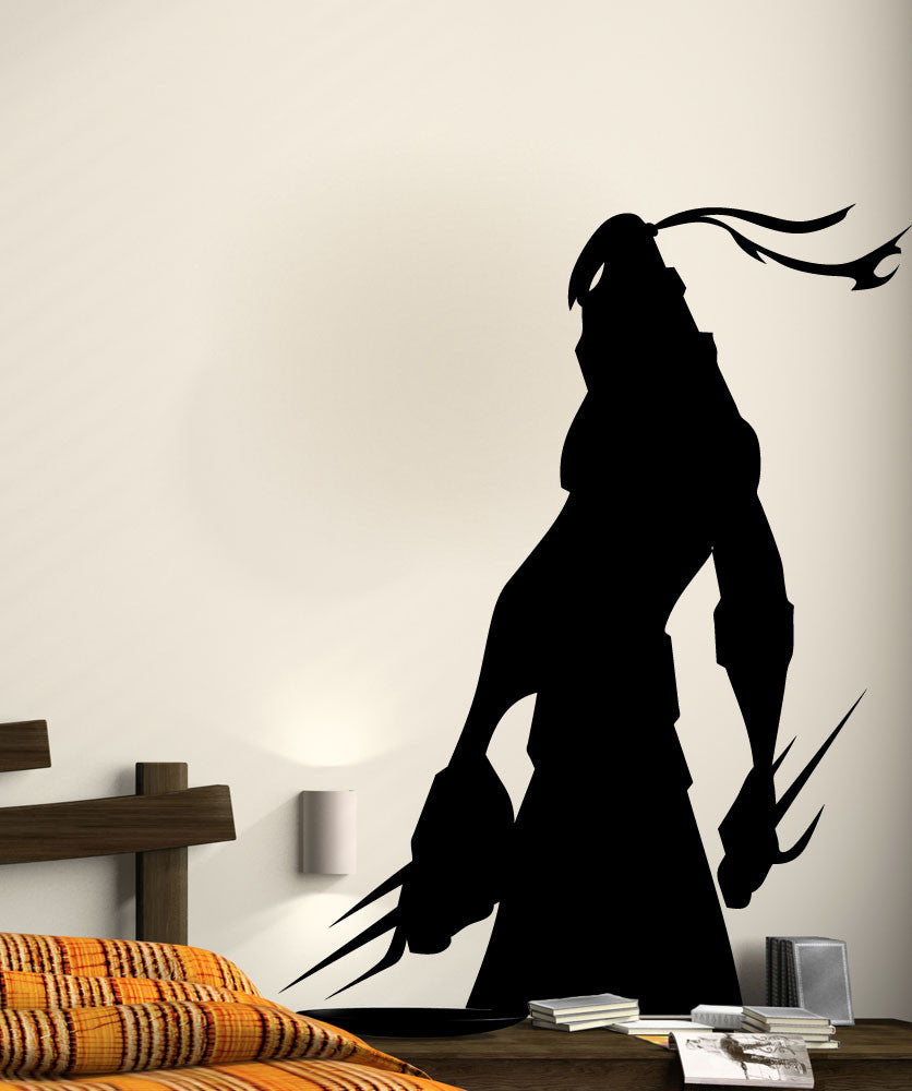 Vinyl Wall Decal Sticker Ninja Shadow #5496