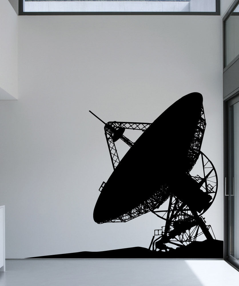 Vinyl Wall Decal Sticker Satellite Dish #5498