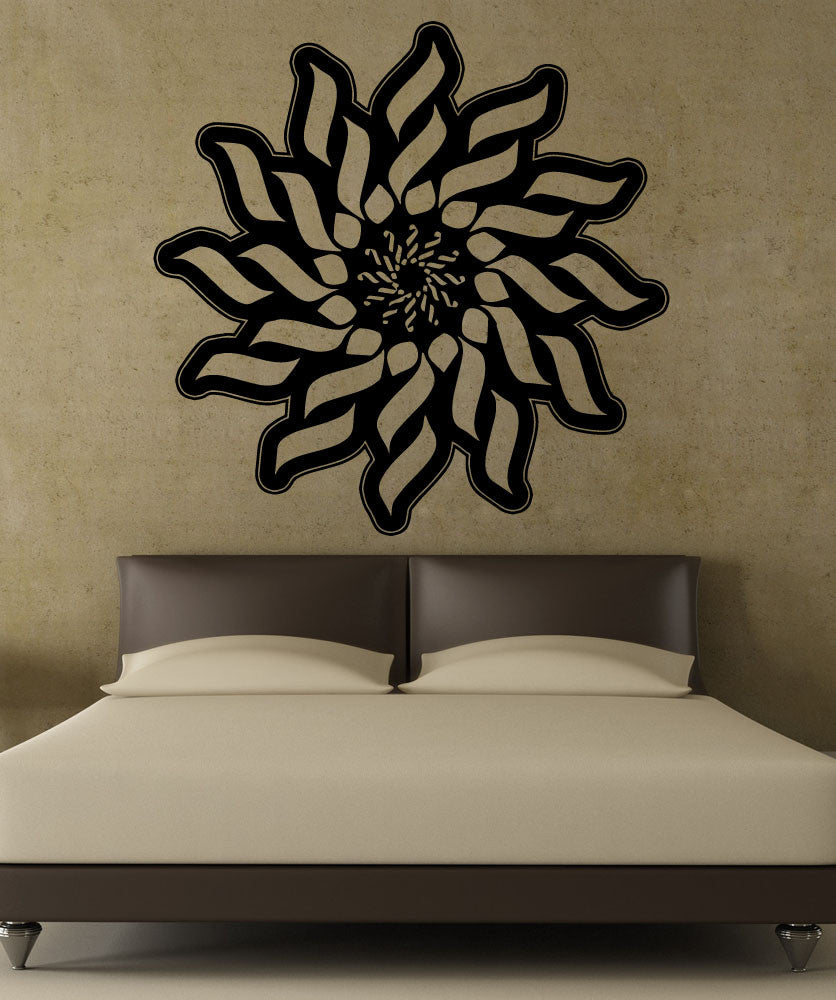 Vinyl Wall Decal Sticker Abstract Sun Design 5507 - abstract wall design decals