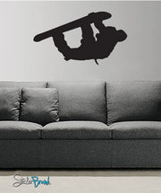 Vinyl Wall Decal Sticker Snowboarder #551