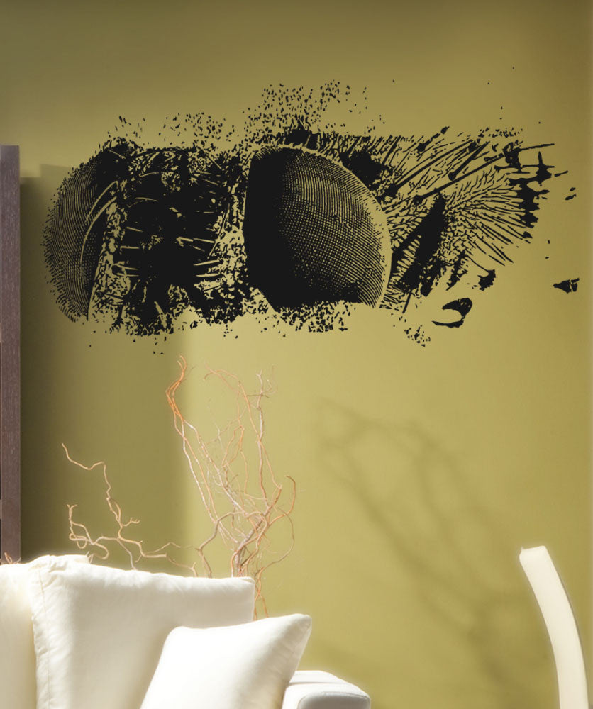 Vinyl Wall Decal Sticker Bug Eyes #5521