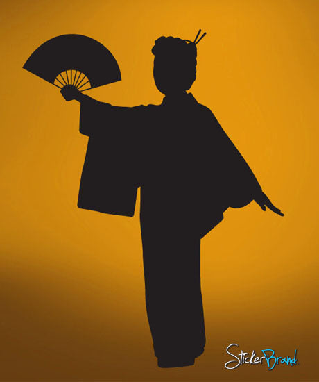 Vinyl Wall Decal Sticker Geisha #554