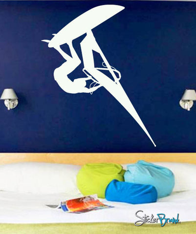 Vinyl Wall Decal Sticker WindSurfer #563
