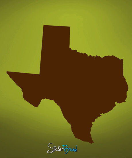Vinyl Wall Decal Sticker Texas #564