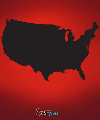 Vinyl Wall Decal Sticker United States of America #565